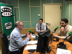 Entrevista de Injercare en Onda Cero